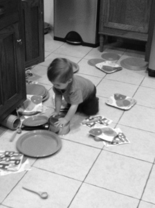 Thad Kitchen Mess