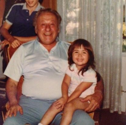 Carli & Grandpa G
